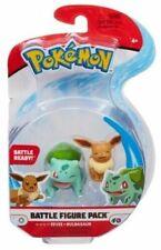 "Pokemon ~ Battle Figure Pack ~ Eevee & Bulbasaur 2"" Figures Character"