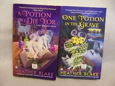 HEATHER BLAKE BOOKS MAGIC POTION MYSTERY,A POTION TO DIE FOR, ONE IN THE GRAVE