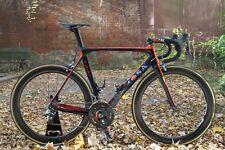 "De Rosa ""Superking"" Carbon-Frameset Aero Schwarz/Rot, Size 54, wie neu"