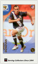 2010 Panini World Cup Soccer Trading Card Common No185 Landon Donovan (USA)