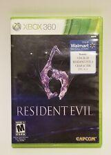 Resident Evil 6 (Xbox 360) 2 Disc Set No Manual (Capcom)