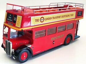 IXO Models 1/43 Scale Model Bus BUS018 -1950  AEC Regent Open Top