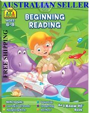 School Zone Beginning Reading I Know It Book + FREE SHIPPING