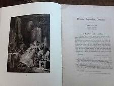 Collection Jacques Doucet. 1ère partie DESSINS - PASTELS XVIII° Siècle. 1912