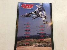 VINTAGE ORIGINAL BMX ACTION! OCTOBER 1988 MAGAZINE VOLUME 13, NO. 10