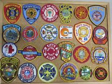 FLORIDA FIRE/RESCUE DEPARTMENT PATCHES! SET ONE! LOT OF  24! SEE ITEM DESC