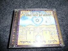 Various Artists - For Zion's Sake, I Will Not Be Silent - CD/DVD (Ted Pearce)