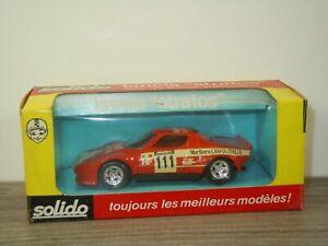 Lancia Stratos - Solido 27 France 1:43 in Box *53414