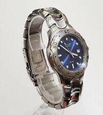 RARE,UNIQUE Men's Vintage 1995 Watch CITIZEN 2510-S92308. Blue Dial