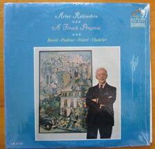 "Artur Rubinstein ""A French Program"" 1964 LP Vinyl Record RCA Red Seal LM-2751"