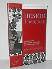 Focus Classical Library: Hesiod Theogony by Aly Wolf 1881 Hesiod PBK