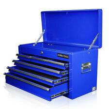 162 US PRO TOOLS BLUE MECHANICS 6 DRAWER TOOL STORAGE CHEST BOX CABINET