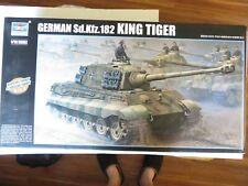 Trumpeter 1/16 King Tiger 2 in 1 Porsche or Henschel #910