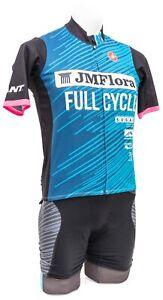 Castelli Full Cycle Short Sleeve Kit Men MEDIUM Blue Road Bike Mountain Gravel