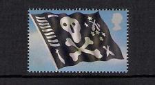 GB 2009 sg2970 Royal Navy Uniforms Jolly Roger Submarine Flag booklet stamp MNH