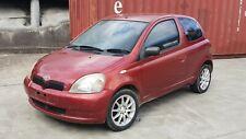 Toyota Echo Hatch NCP10 - 2002 - Wrecking Car - Burgundy Red Automatic 1.3 2NZFE