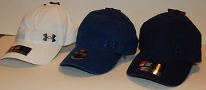 Under Armour UA Women's Washed Cap / Hat NEW Adjustable Strapback 3 Colors