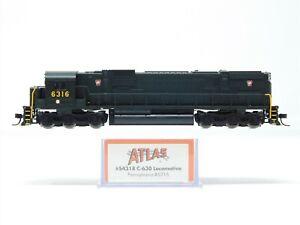 N Scale Atlas 54318 PRR Pennsylvania C630 Diesel Locomotive #6316 w/ DCC