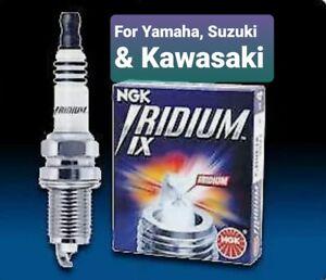 NGK  CR9EIX Iridium IX Spark Plug for Yamaha, Suzuki & Kawasaki