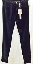 J Brand Velvet Jeans Skinny Stretch Jeggings Pants Black Forest size 24