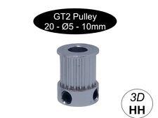 GT2 Pulley 20Z Breite 10mm  Ø5mm  3D Drucker Versand gleicher Tag