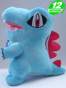 "RARE 12"" Anime Halloween Monster Totodile Plush Doll - PNPL8099"