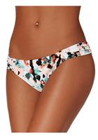 Hula Honey Spring Splash Water Color TabSide Hipster Bikini Bottom Small $28