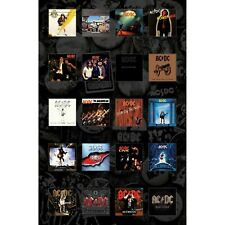 AC/DC premium fabric poster BACK CATALOGUE