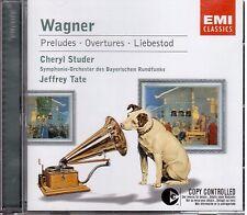 Wagner: Perludi e Overture, Liebestod / Jeffrey Tate, Ceryl Studer - CD