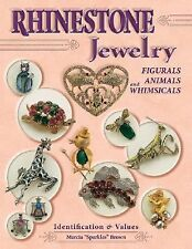 NEW Rhinestone Jewelry Collector's Price Guide Book Hardback Full Size color pic