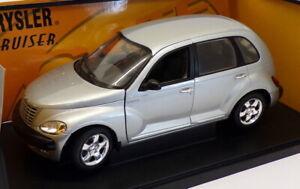 Gate 1/18 Scale Model Car 01092 - 2001 Chrysler PT Cruiser - Silver