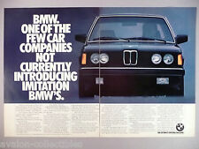 BMW 320i Double-Page PRINT AD - 1981