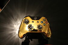 Gold Chrome - Custom X Box one controller