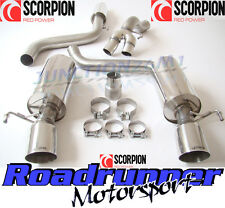 "Scorpion Corsa VXR & Nurburgring Exhaust 3"" Cat Back Resonated Quieter SVX055"