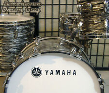 Yamaha, 70s Vintage, Repro Logo - Adhesive Vinyl Decal, for Bass Drum Reso Head