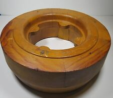 Antique Wood Foundry Mold Pattern Oliver Plow Company Industrial Vintage