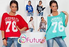 Sexy Women's BROOKLYN Top + Vest Top FREE Kimono Batwing Style Size 8 -12 8077