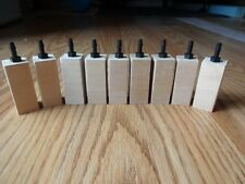 "Wooden airstone air stone diffuser 10 pack 2""x 3/4"" limewood aquarium reef wood"