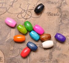 500PCS  Mixed color Wood bead Spacer charms loose Beads 8x5mm