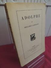 ADOLPHE Benjamin Constant  Exemplaire numéroté