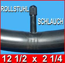 Schlauch 12 1/2 x 2 1/4 für Rollstuhlreifen Elektrorollstuhl Elektro Scooter