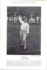 1895 Cricket Wilson, C e M, Cambridge: Grigio, H, Cambridge