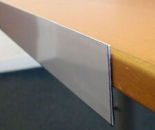 SALE : 100 x EPOS Price Shelf Edge Ticket Strips 80mm H x 550mm L