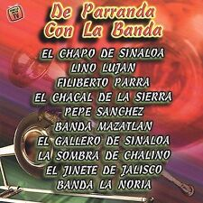 Various Artists : De Parranda Con La Banda CD