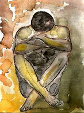 MALE BODY PAINTING - GICLEE PRINT - STICKYKITTIES ART GALLERY ORIGINAL PAINTINGS
