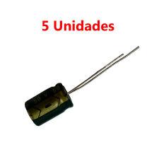 5x Condensador Electrolitico Polarizado 100uF 50V 12x9mm