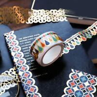 Lucky Star Hollow Out Wassertropfen Washi Tape DIY Scrapbooking Masking Tape