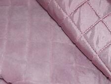 Jackenstoff gefüttert 100x140cm rosa/changierend Fell Stoff