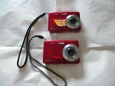2- Kodak Easy Share C180 10.2MP Digital Camera - Red