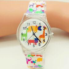 Children Quartz Watches Waterproof Wristwatch Kids Gift Giraffe Fashion Watch